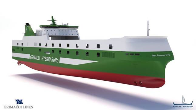 The Grimaldi Group Orders Six Hybrid Ro/Ro Vessels