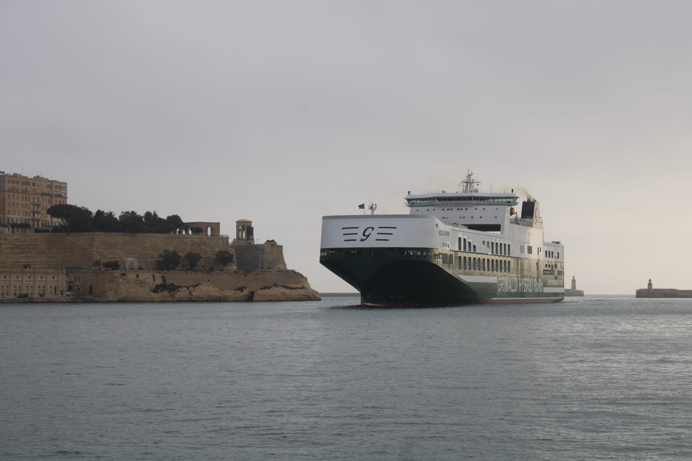 First Hybrid RoRo Vessel 'MV ECO Livorno' Arrives in Malta